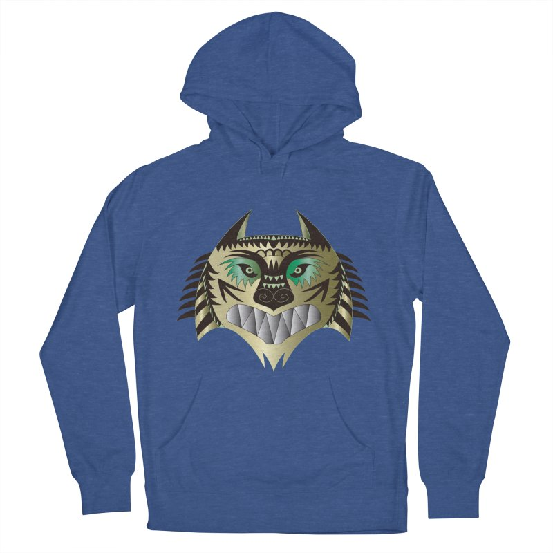 Wolf-Tiger Women's Pullover Hoody by WALLYF's Artist Shop