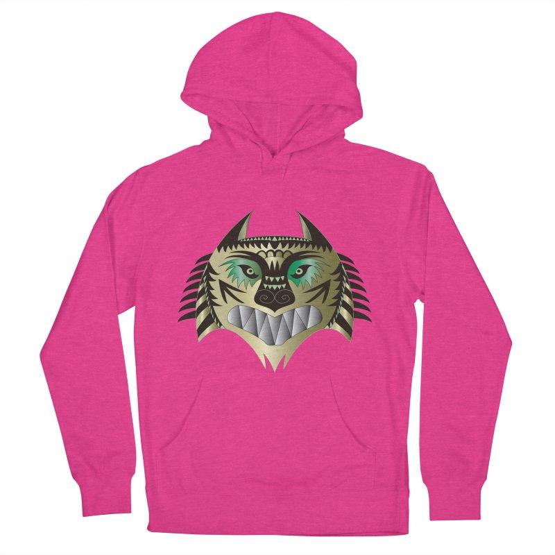 Wolf-Tiger Women's Pullover Hoody by WALLYF's Artist Shop