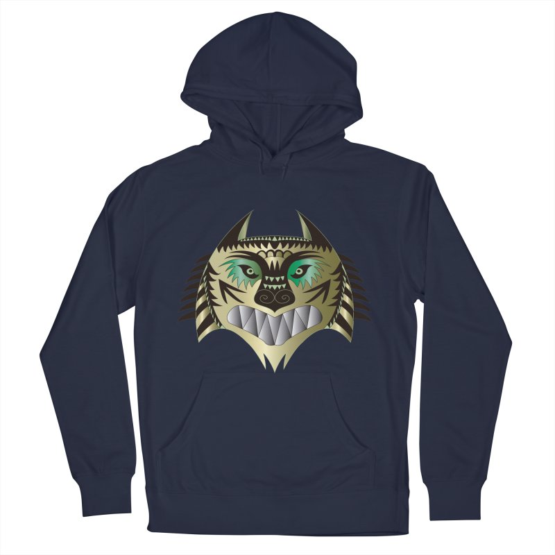Wolf-Tiger Men's Pullover Hoody by WALLYF's Artist Shop