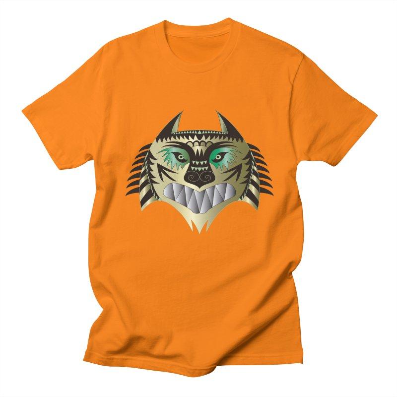 Wolf-Tiger Men's T-shirt by WALLYF's Artist Shop