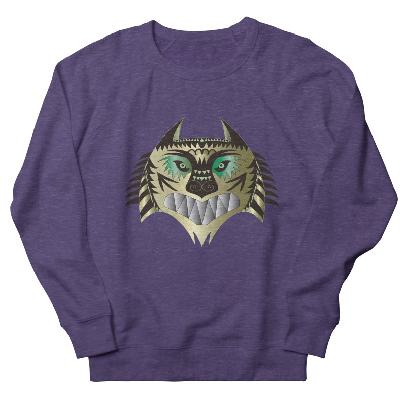 Wolf-Tiger Men's Sweatshirt by WALLYF's Artist Shop