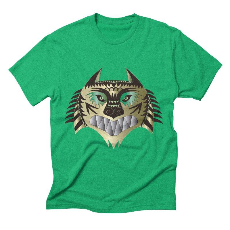 Wolf-Tiger Men's Triblend T-shirt by WALLYF's Artist Shop