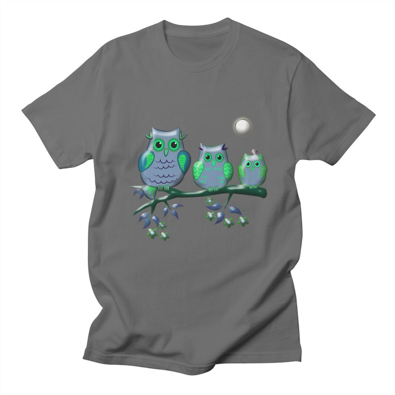 owls Men's T-Shirt by WALLYF's Artist Shop