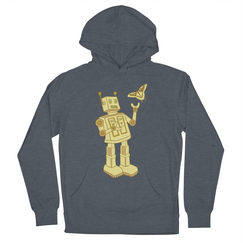 robot Women's Pullover Hoody by WALLYF's Artist Shop