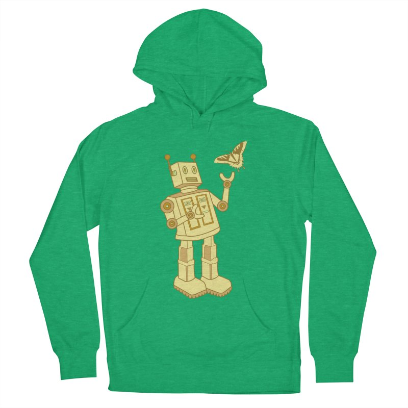 robot Men's Pullover Hoody by WALLYF's Artist Shop