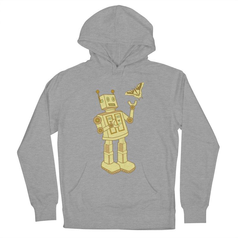 robot Men's Pullover Hoody by WALLYF's Artist Shop