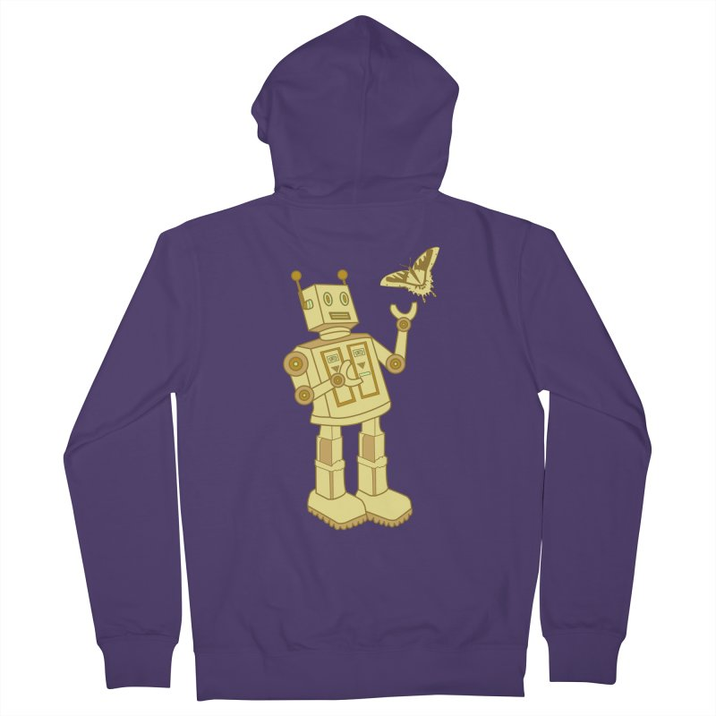 robot Women's Zip-Up Hoody by WALLYF's Artist Shop