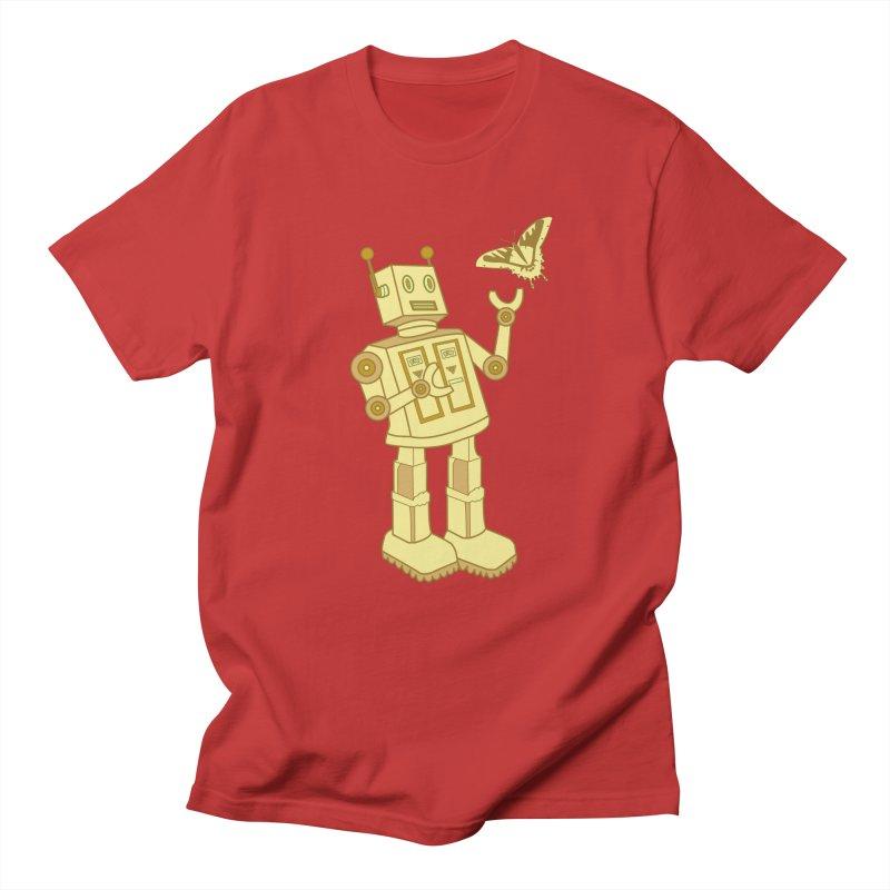 robot Men's T-shirt by WALLYF's Artist Shop