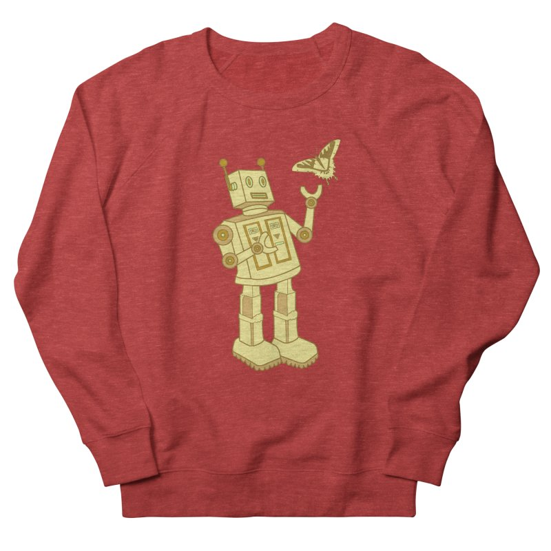 robot Women's Sweatshirt by WALLYF's Artist Shop
