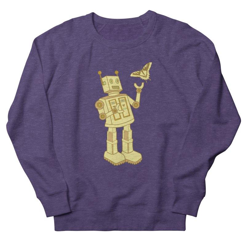 robot Men's Sweatshirt by WALLYF's Artist Shop
