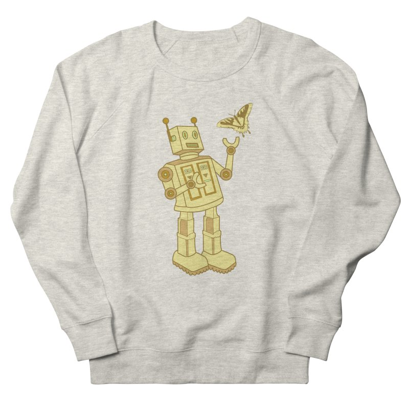 robot Men's Sweatshirt by WALLYF's Artist Shop