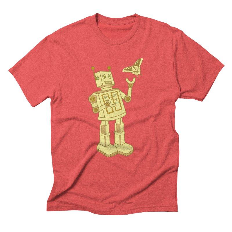 robot Men's Triblend T-Shirt by WALLYF's Artist Shop