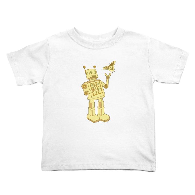 robot Kids Toddler T-Shirt by WALLYF's Artist Shop