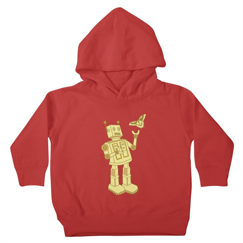robot Kids Toddler Pullover Hoody by WALLYF's Artist Shop