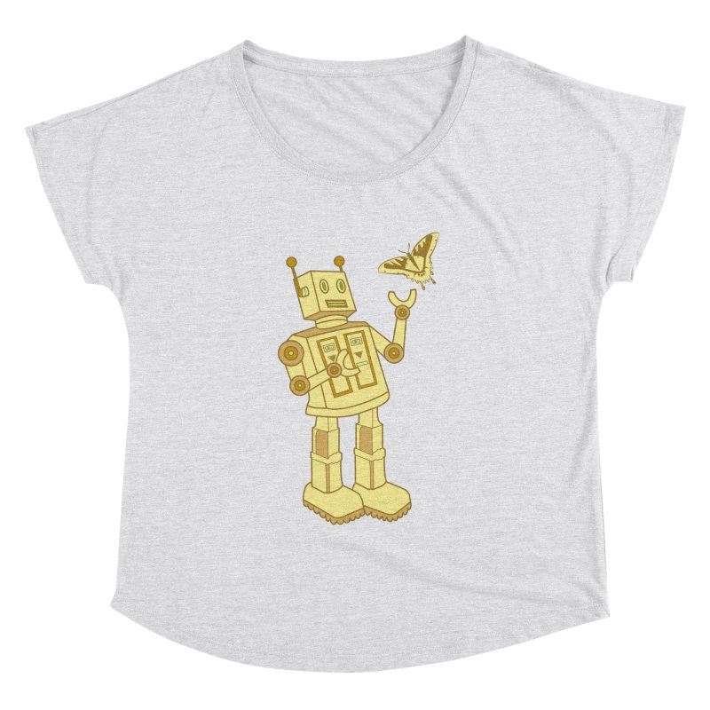 robot Women's Dolman by WALLYF's Artist Shop