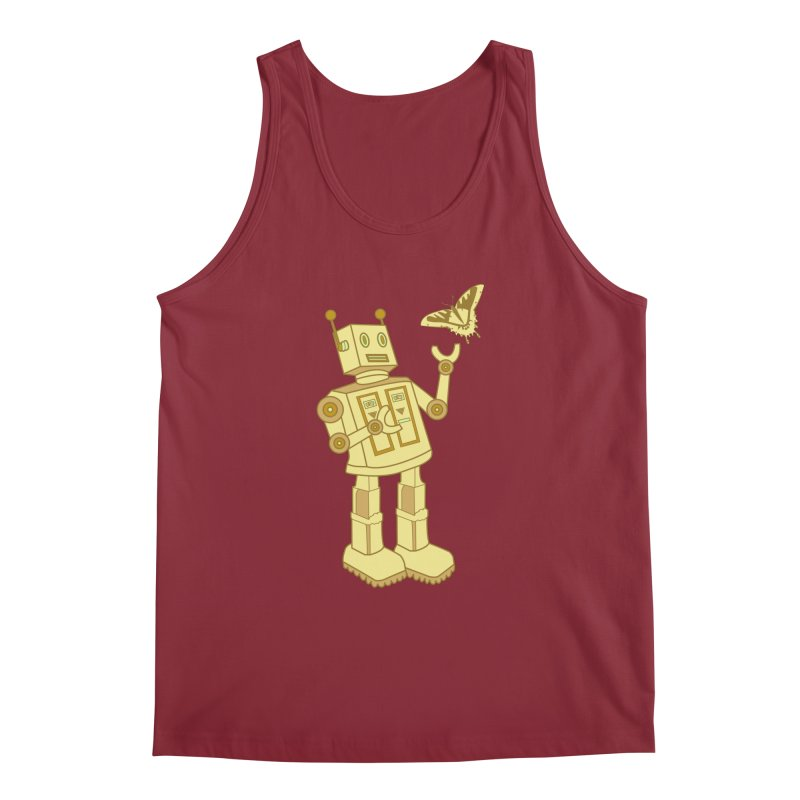 robot Men's Tank by WALLYF's Artist Shop