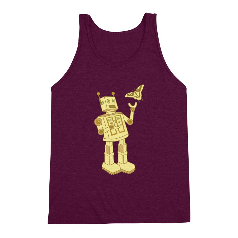robot Men's Triblend Tank by WALLYF's Artist Shop