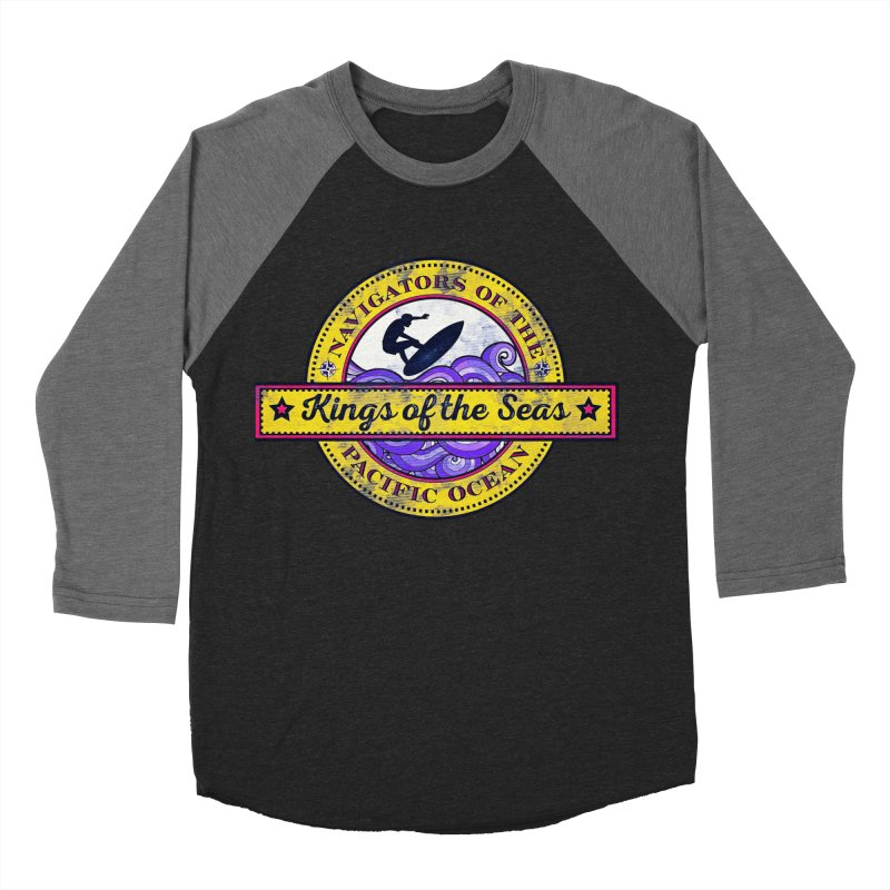 Kings of the seas Men's Baseball Triblend T-Shirt by WALLYF's Artist Shop