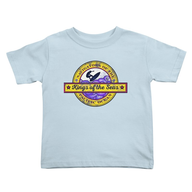 Kings of the seas Kids Toddler T-Shirt by WALLYF's Artist Shop