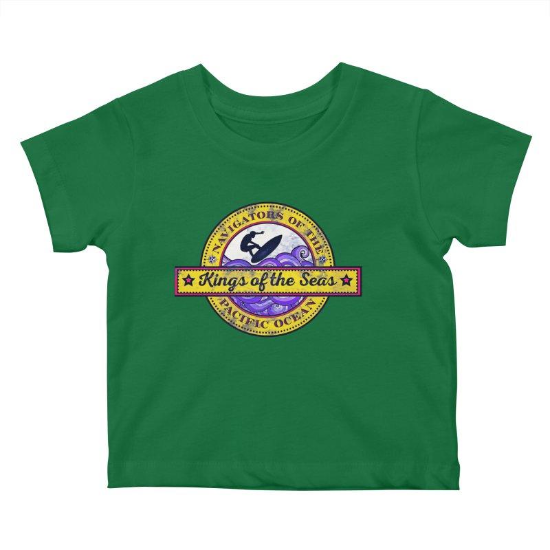 Kings of the seas Kids Baby T-Shirt by WALLYF's Artist Shop