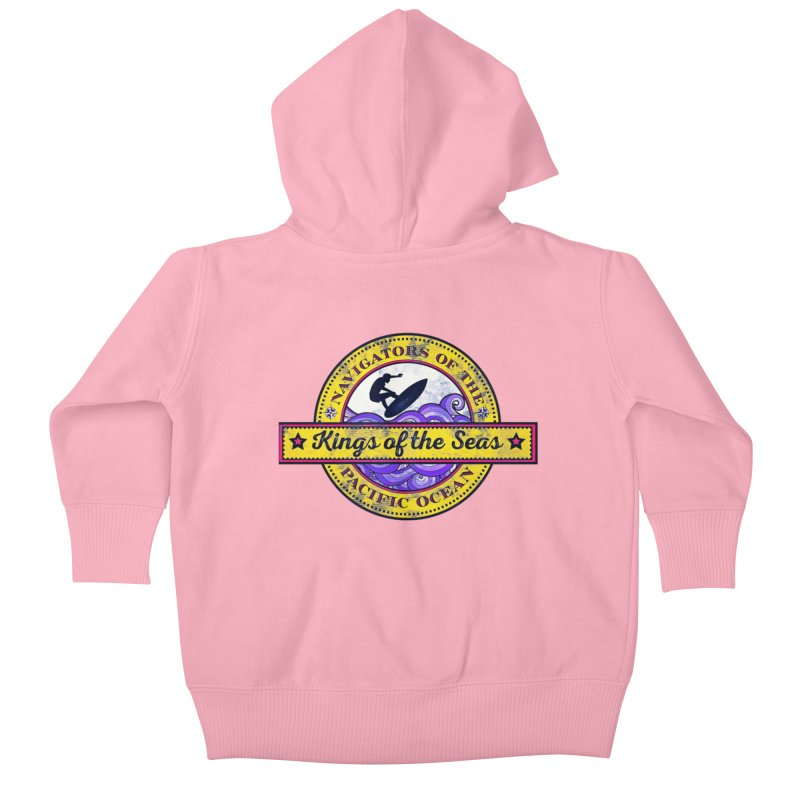 Kings of the seas Kids Baby Zip-Up Hoody by WALLYF's Artist Shop
