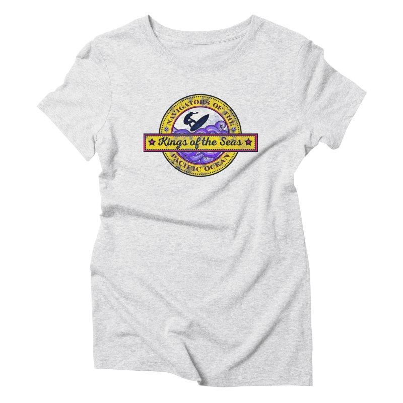 Kings of the seas Women's Triblend T-Shirt by WALLYF's Artist Shop