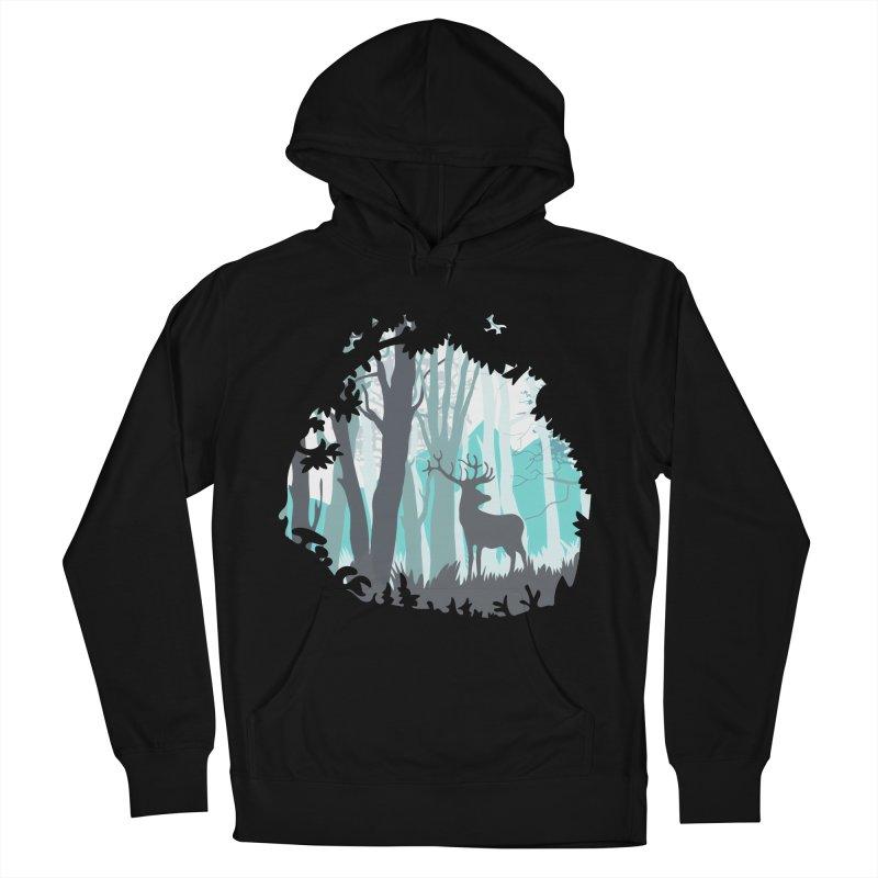 the hidden forest Men's Pullover Hoody by WALLYF's Artist Shop