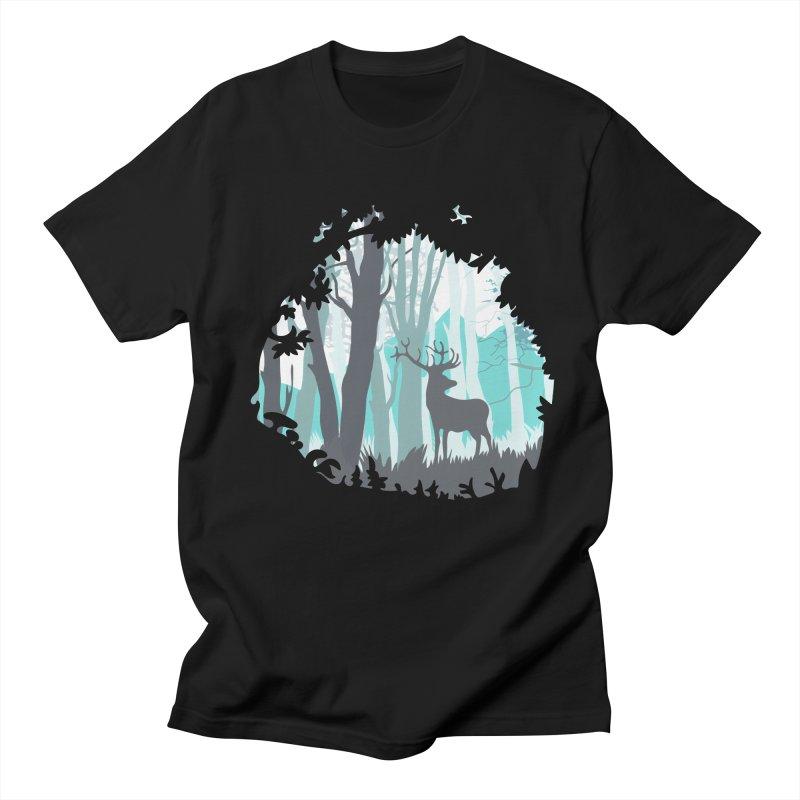 the hidden forest Men's T-Shirt by WALLYF's Artist Shop