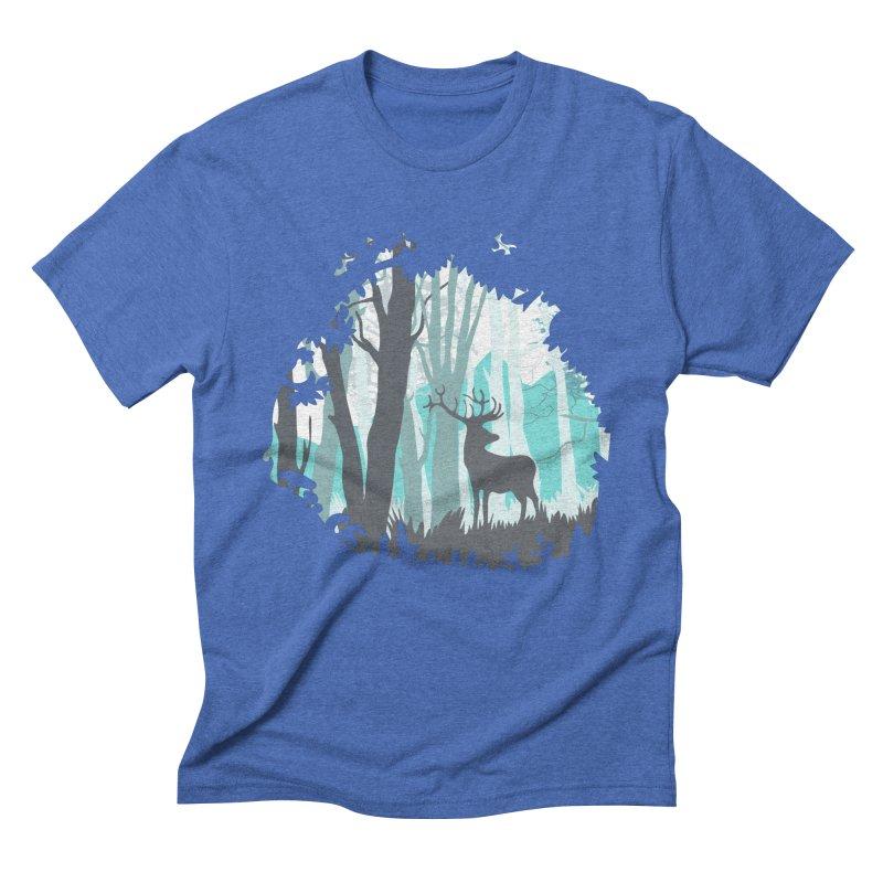 the hidden forest Men's Triblend T-Shirt by WALLYF's Artist Shop