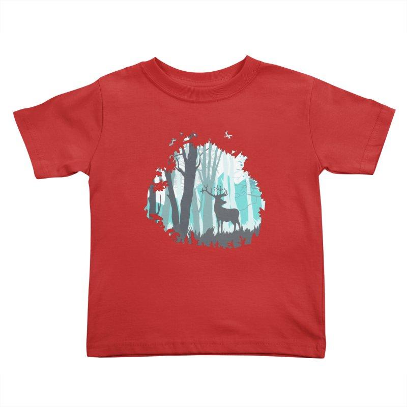 the hidden forest Kids Toddler T-Shirt by WALLYF's Artist Shop