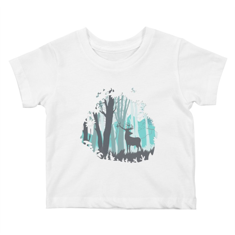 the hidden forest Kids Baby T-Shirt by WALLYF's Artist Shop