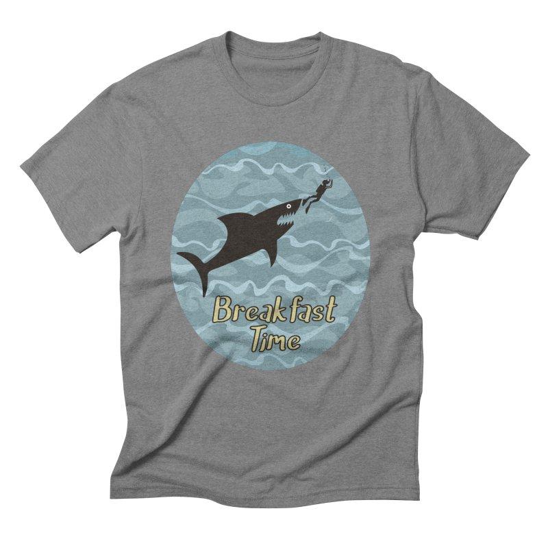 breakfast time Men's Triblend T-Shirt by WALLYF's Artist Shop