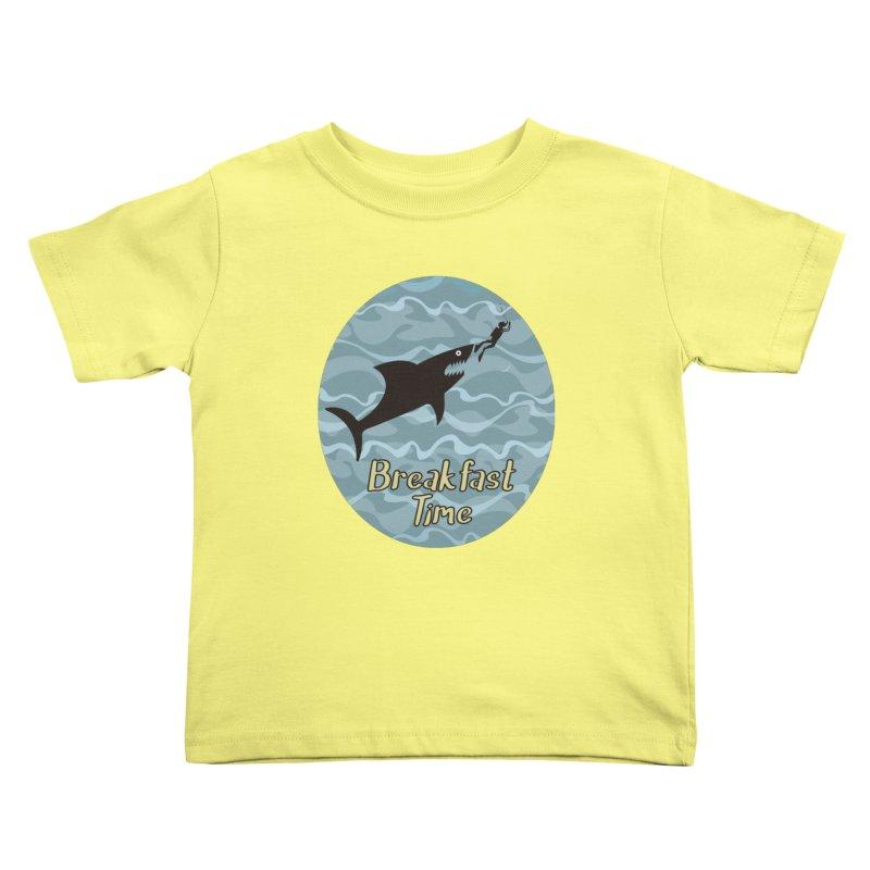breakfast time Kids Toddler T-Shirt by WALLYF's Artist Shop