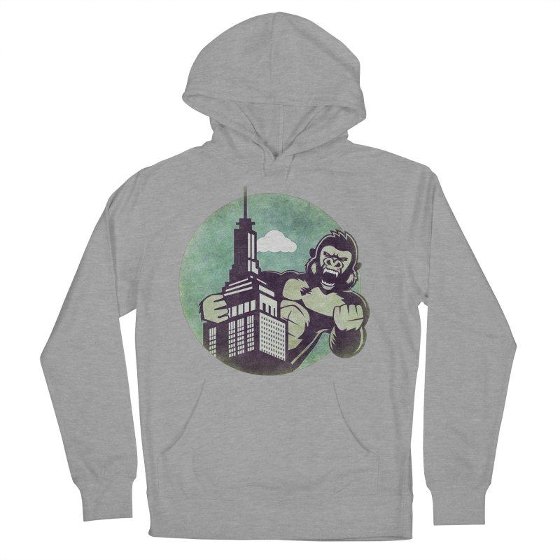 Gorilla Men's Pullover Hoody by WALLYF's Artist Shop