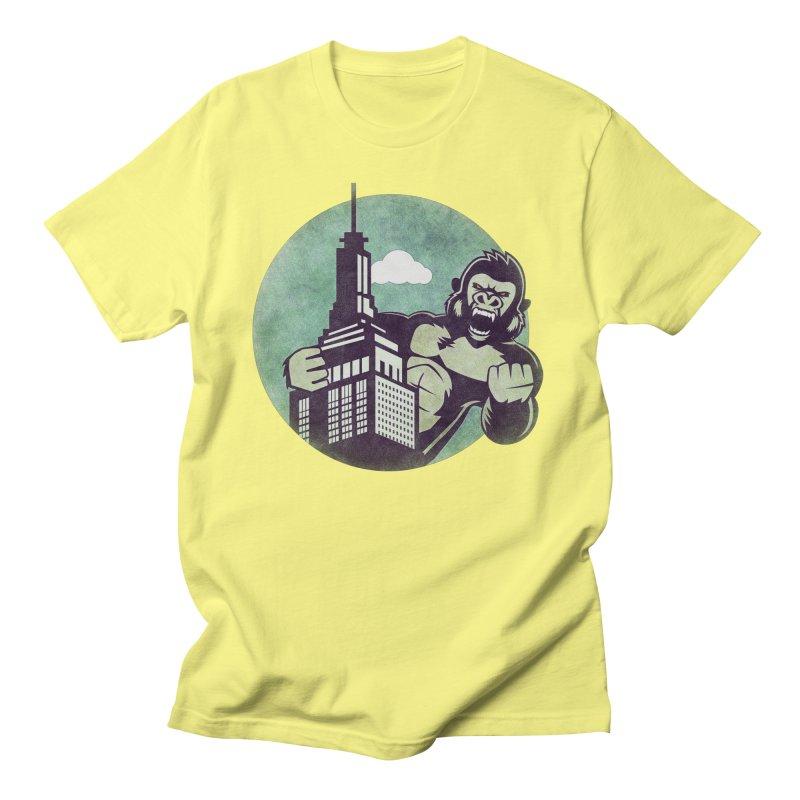 Gorilla Men's T-Shirt by WALLYF's Artist Shop