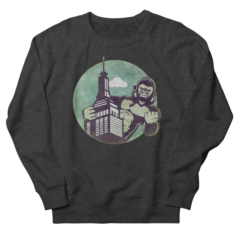 Gorilla Women's Sweatshirt by WALLYF's Artist Shop