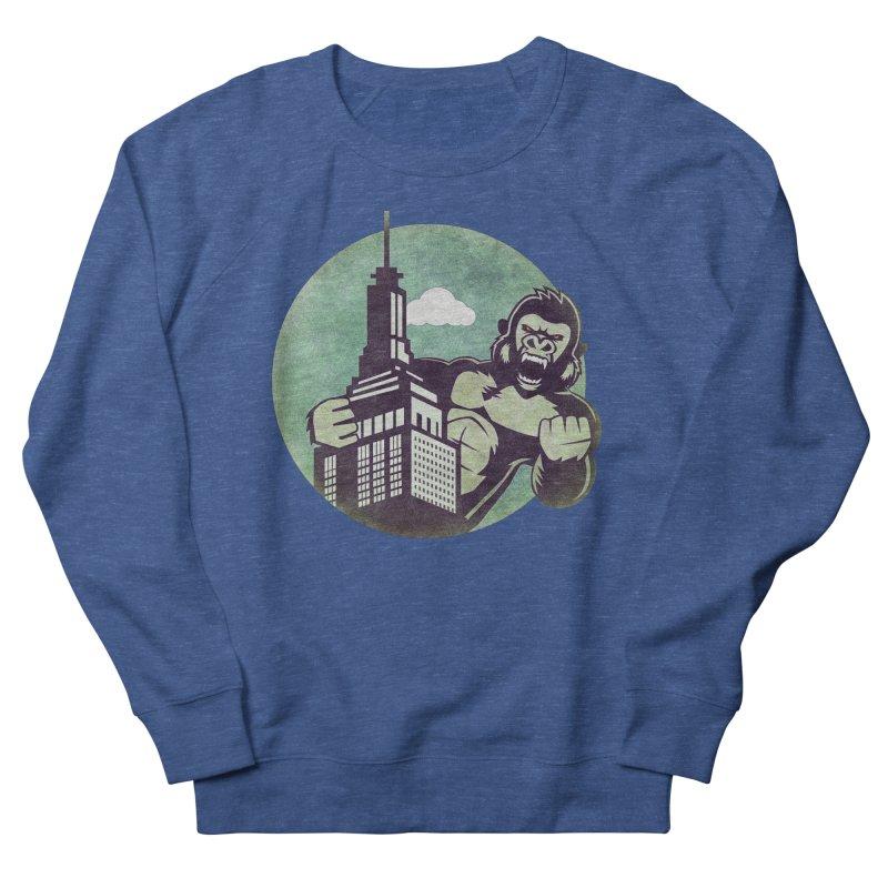 Gorilla Men's Sweatshirt by WALLYF's Artist Shop