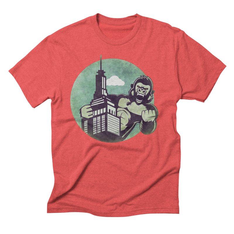 Gorilla Men's Triblend T-Shirt by WALLYF's Artist Shop