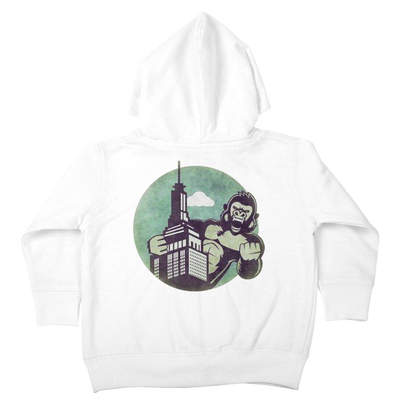 Gorilla Kids Toddler Zip-Up Hoody by WALLYF's Artist Shop