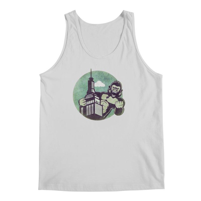 Gorilla Men's Tank by WALLYF's Artist Shop