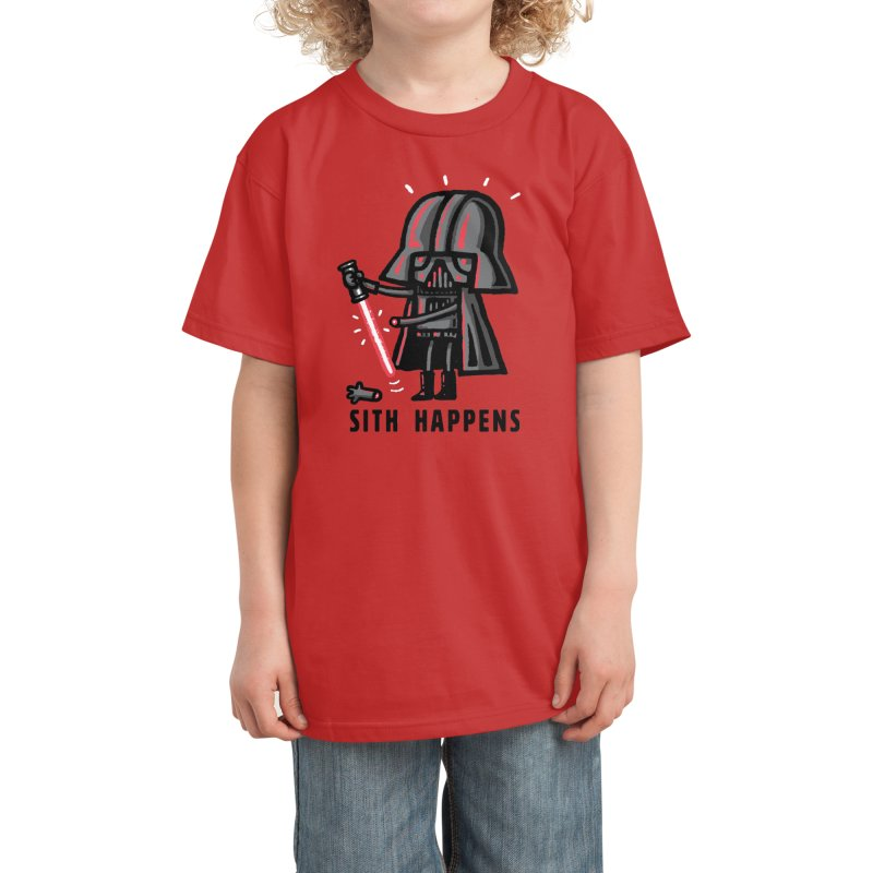 Sith Happens Kids T-Shirt by Walmazan's Artist Shop