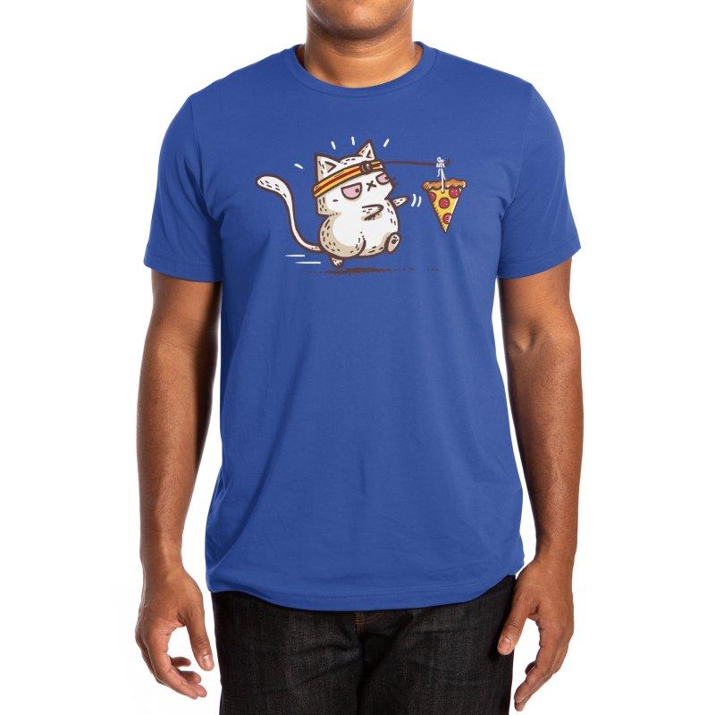 Self Meowtivation Men's T-Shirt by Walmazan's Artist Shop