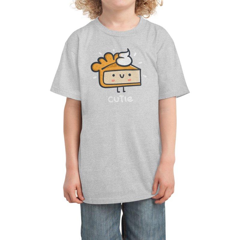 A Cutie Pie Kids T-Shirt by Walmazan's Artist Shop