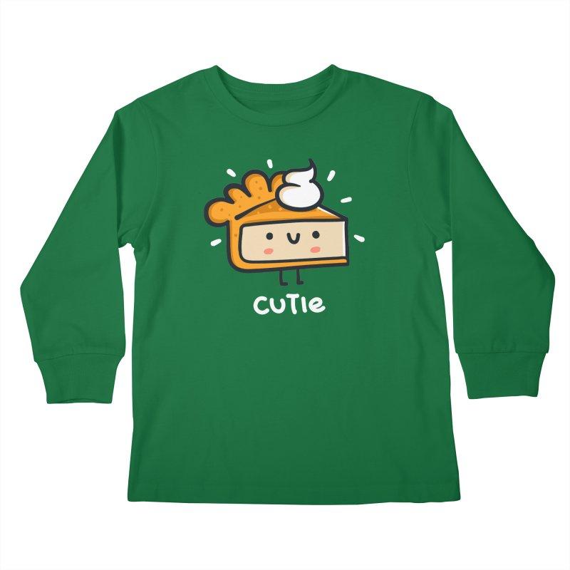 A Cutie Pie Kids Longsleeve T-Shirt by Walmazan's Artist Shop