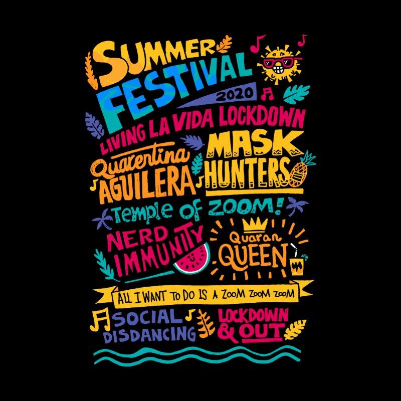 Summer Festival 2020 Kids T-Shirt by Walmazan's Artist Shop