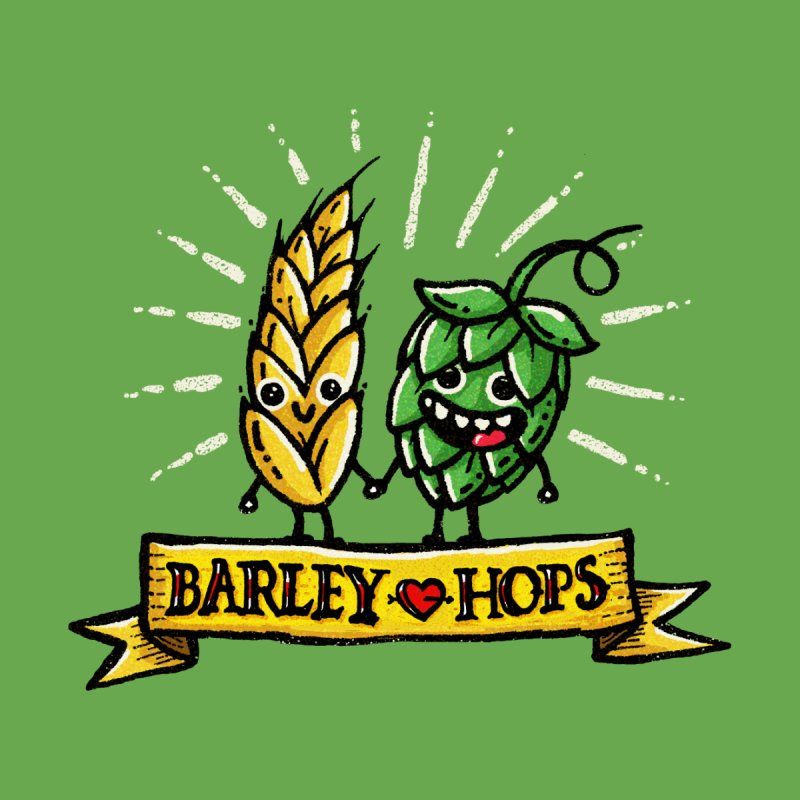 BARLEY LOVE HOPES Men's T-Shirt by Walmazan's Artist Shop