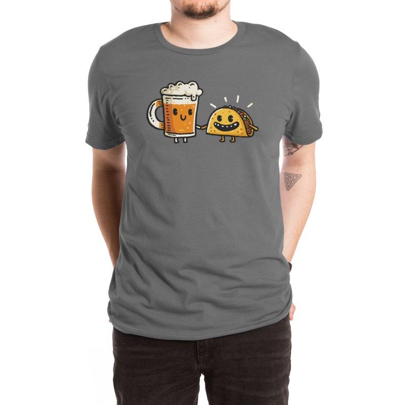 Cerveza & Taco Men's T-Shirt by Walmazan's Artist Shop