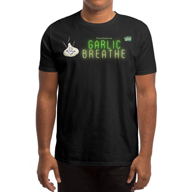 Black Garlic Breath Men's T-Shirt by WAStateGarlicFest's Artist Shop