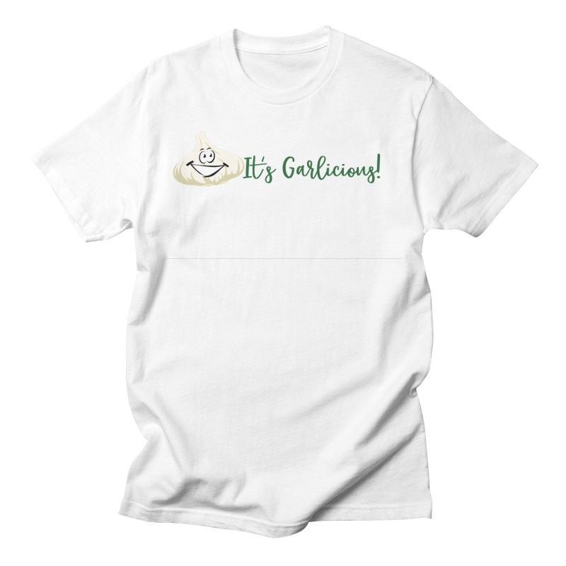 Garlicious Men's T-Shirt by WAStateGarlicFest's Artist Shop