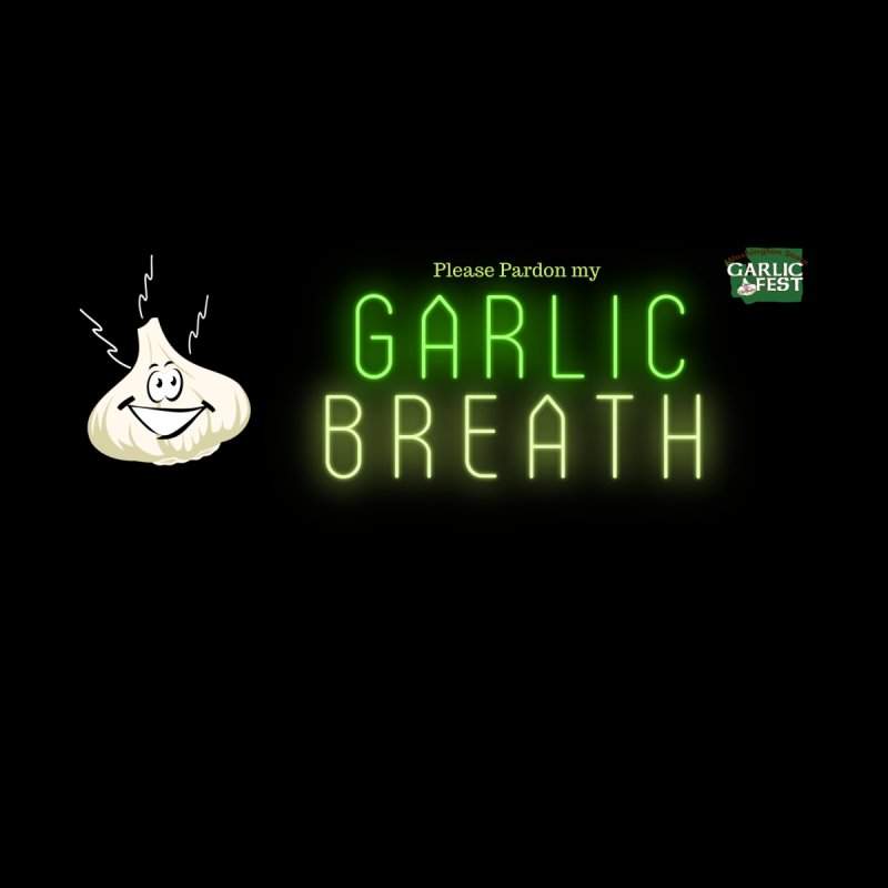 Black Garlic Breath Men's T-Shirt by WAStateGarlicFest's Artist Shop